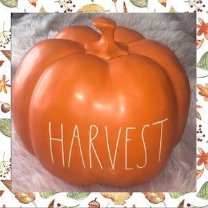 RAE DUNN  |  Large HARVEST Pumpkin